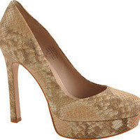 Joan & David Quella - Blush Snake Leather - Free Shipping & Return Shipping - Shoebuy.com
