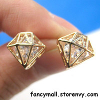 diamond shaped Earrings/Ear Ring/Stud