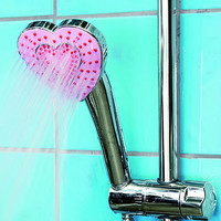 heart-shaped shower head by the heart store