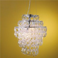 Glass Links Chandelier - Shades of Light