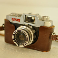 Vintage Early 60s Pax Jr 35mm Camera &amp; by LilytheDogVintage
