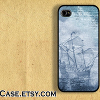 IPHONE CASE iPhone 5 Case iPhone 4 case Samsung Galaxy S3 Case Sailboat sea ship