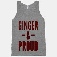 Ginger & Proud (tank)