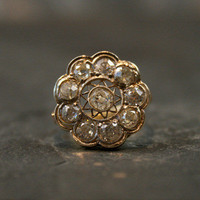 Antique Diamond Daisy Cluster Ring by Ruby Gray's | Ruby Gray's Antique & Vintage Rings