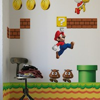 Blik Wall Decal - New Super Mario Bros. ~ Re-Stik