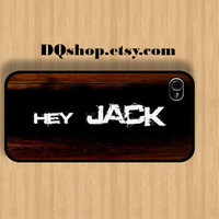 Hey Jack Duck Dynasty Happy Happy Happy - iPhone 4 Case iPhone 4s Case iPhone 5 Case