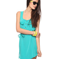 Satiny Self-Tie Dress | FOREVER21 - 2015036659