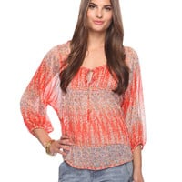 Poppy Field Top | FOREVER21 - 2008584395