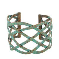 Painted Woven Cuff | FOREVER21 - 1000042978