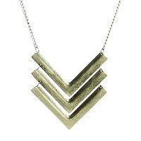 Tribal Pendant Necklace | Shop Jewelry at Wet Seal