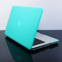 TopCase Tiffany Blue Rubberized Satin Hard Case Cover for New Macbook Pro 13-inch  (A1278/with or without Thunderbolt)