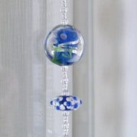 Crystal Prism Beaded Suncatcher Window Ornament