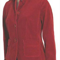 New Talbots Brick Red Corduroy Jacket Size 6P