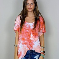 Gary Tee ~ Sunset Tie Dye Jersey | Show Me Your Mumu