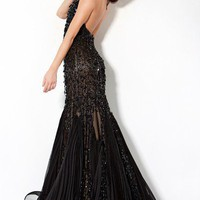 Tear Drop Beaded Prom Gown, Style 3111