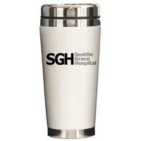 SGH Ceramic Travel Mug> Seattle Grace Hospital> Grey's Anatomy TV Store