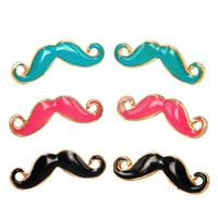 Cute Moustache Earrings