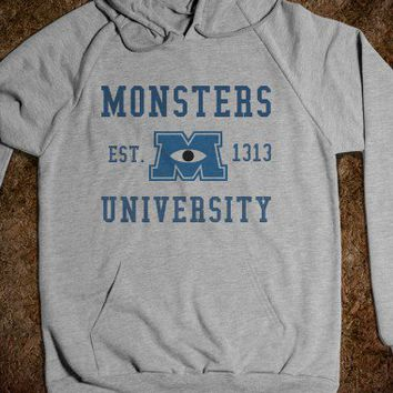 Monsters University Hoodie