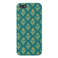Emerald Damask Rose savvy iPhone 5 Covers from Zazzle.com