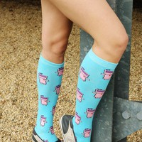Etta Tron Knee High Socks