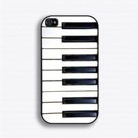 Piano Keys iPhone 4 Case iPhone 4s Case iPhone 4 by iCaseSeraSera