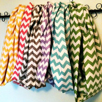 Chevron Infinity Scarves