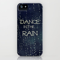 Dance in the Rain iPhone Case by Caleb Troy