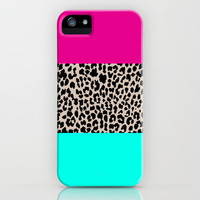 Leopard National Flag iPhone Case by MN Art