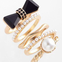 Adia Kibur Rings (Set of 5) | Nordstrom