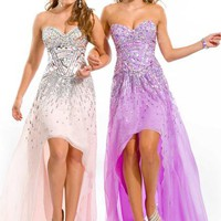 Party Time Gown 6005 Prom Dress - PromDressShop.com