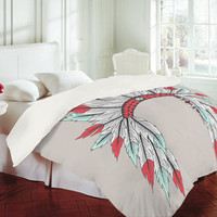 Wesley Bird Dressy Duvet Cover
