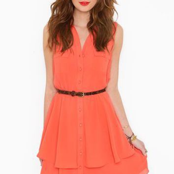 Bright Side Shirtdress in  Clothes at Nasty Gal
