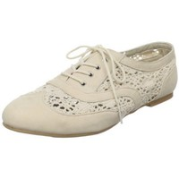 Powder Blue Women&#x27;s Neat Lace-Up Oxford - designer shoes, handbags, jewelry, watches, and fashion accessories | endless.com