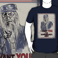 &quot;Dumbledore&#x27;s Army - Harry Potter Shirt&quot; T-Shirts &amp; Hoodies by spacemonkeydr | RedBubble