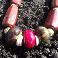 SHIPS FREE The Warrior's Stone Red Jasper by HobbsStonesandBones