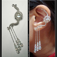 Jareth ear cuff by Meowchee on Etsy