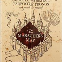 &quot;Marauders Map Iphone Case&quot; iPhone &amp; iPod Cases by Rachel Miller | RedBubble