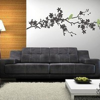 Nature's Longing Branch Vinyl Wall Decals by singlestonestudios
