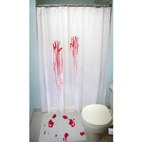 Horror Movie Shower Curtain & Bath Mat