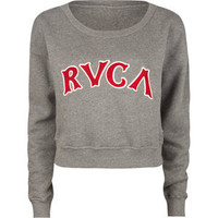 RVCA Ra Ra Womens Crop Sweatshirt
