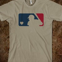 Organic Baseball MLB Love #softball #love #mlb #baseball #shirt #tshirt #sports #organic