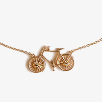 Bicycle Necklace | FOREVER 21 - 1035050262