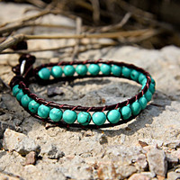Birthstone Collection: December Turquoise Beads Bracelets