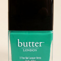 Butter London Slapper Teal Nail Lacquer