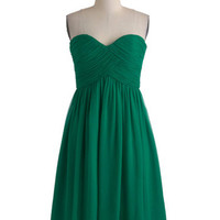 Elegant Green A-line Sweetheart Neckline Mini Prom Dress