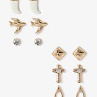 Birds & Wishbones Stud Set | FOREVER 21 - 1047870681