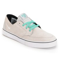 Nike Braata LR Neutral Grey, White & Crystal Mint Skate Shoe