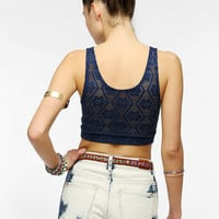 Urban Outfitters - Staring At Stars Crochet-Back Bra Top