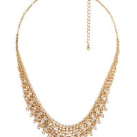 Chain-Link Bib Necklace | FOREVER21 - 1011409725