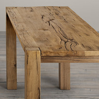 Parsons Russian Oak Bar Table